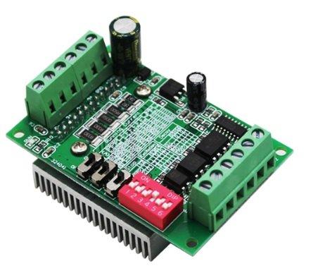 tb6600步进马达驱动器 驱动板 (4a;32细分 微步1/2/4/8/32细分可调.)