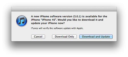 蘋果發佈iOS 5更新(修復電池續航力)