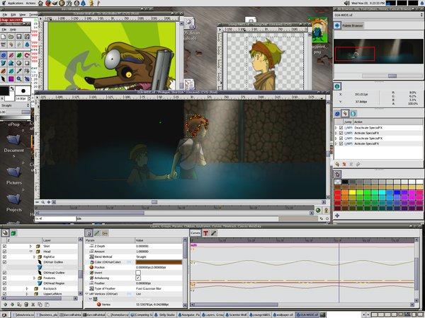 《2D 向量動畫創作工具》(synfig)0.63