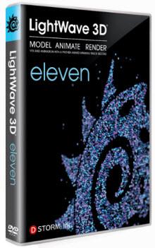 3D建模.動畫和編譯專案軟體 Newtek Lightwave 3D 11.0.3