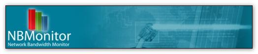 監控網際網路頻寬流量 NBMonitor Network Bandwidth Monitor v1.3.5.0