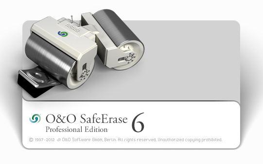 安全刪除敏感資料.重建的軟體 O&O SafeErase 6 Pro 6.0.85