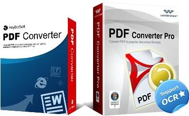 PDF文字文件格式轉換器 Wondershare PDF Converter Pro 4.0.1.1