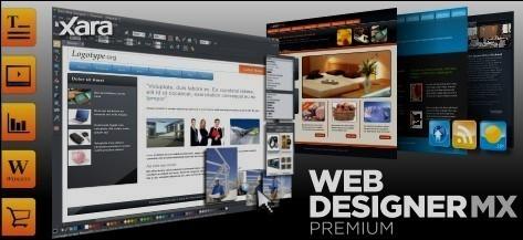 網頁設計師 Xara Web Designer MX Premium 8.1.3.23942 網頁編輯器