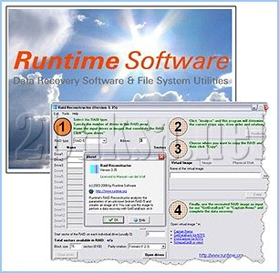 RAID恢復資料 Runtime Raid Reconstructor 4.30