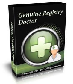 掃瞄和診斷註冊表.隱私.垃圾檔案和系統 Genuine Registry Doctor 2.5.7.2