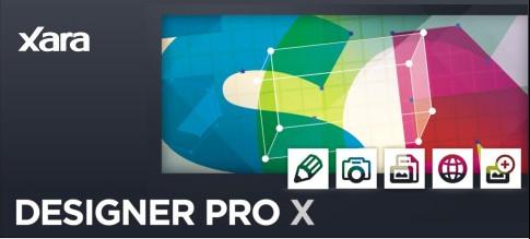 向量插圖 Xara Designer Pro X 8.1.3.23942 繪圖工具