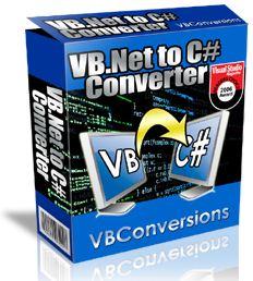 VB VB.Ne代碼轉換到C#轉換器 VB Net to C Sharp Converter v3.00