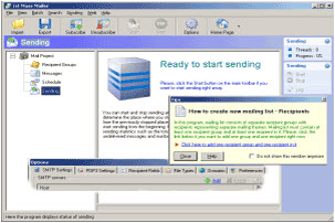 群發信件有很多有用的功能 Softstack 1st Mass Mailer v6.9