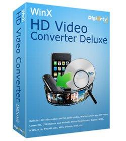 高清視訊轉換軟體 WinX HD Video Converter Deluxe 3.12.4