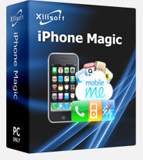 iPhone魔術師經理與您的電腦同步 Xilisoft iPhone Magic Platinum v5.4.5