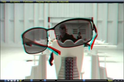 播放2D視訊的3D實時應用程式 3D Video SAMedia3D Player v3.0.0.8