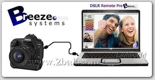 從PC控制佳能Canon數位單反相機 BreezeSys DSLR Remote Pro 2.5.0