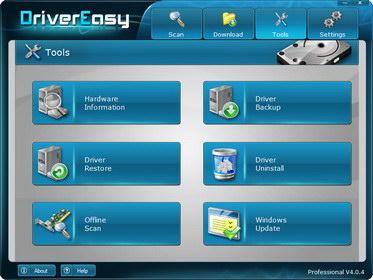 驅動程式應用程式 DriverEasy Professional 4.2.0.31708