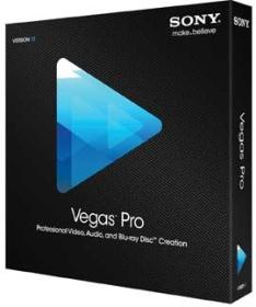 數位電影視訊剪接編輯專業版 Sony Vegas Pro 12.0 多國語言中文版
