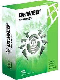 蜘蛛高效保護您的系統和資料 Dr.Web Anti-Virus 7.0.1.10010
