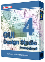 圖形使用者介面設計 Caretta GUI Design Studio Professional v4.4.146.0