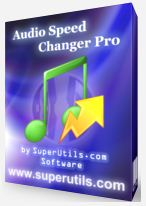 音訊音軌轉換 Audio Speed Changer Pro 1.5.5.168
