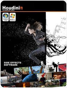 建模和創造的特殊效果 SideFX Houdini FX 12.1.125