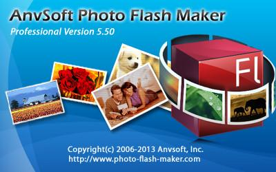 Flash相冊製造幻燈片顯示 AnvSoft Photo Flash Maker Professional 5.50
