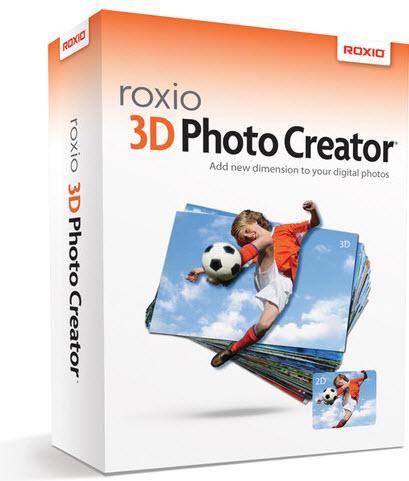3D立體相片製作軟體 Roxio 3D Photo Creator v1.0