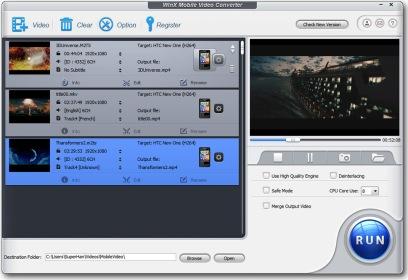 (快速視訊轉換器)WinX Mobile Video Converter 3.0.0 Build 05.24.2013