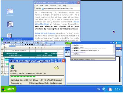 (虛擬桌面)Actual Virtual Desktops 8.0.1 Final