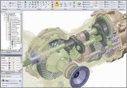 (3D模擬設計軟體)Spaceclaim 2012 Plus SP2 (x86/x64)