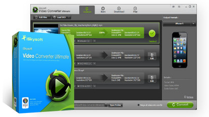 (轉換和下載視訊程式)iSkysoft Video Converter Ultimate 4.6.0.0