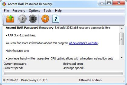 (密碼恢復工具)Accent RAR Password Recovery 3.0.48.2953