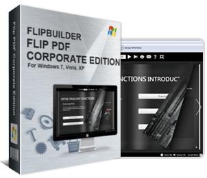 (PDF格式轉換翻頁電子書)Flip PDF Corporate Edition 1.10.2