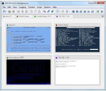(用戶端和終端模擬器)EmTec Zoc Pro 6.54