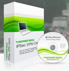 (遠端連線安全工具)TheGreenBow IPSec VPN Client 5.55.001