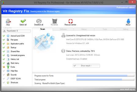 (註冊表修復工具)Vit Registry Fix Pro 12.6.3