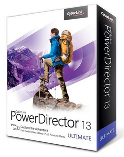 (視訊編輯工具)CyberLink PowerDirector Ultimate 13.0.2307