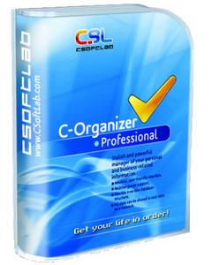 (個人訊息管理程式)CSoftlabs C-Organizer Professional 5.0.1 Final