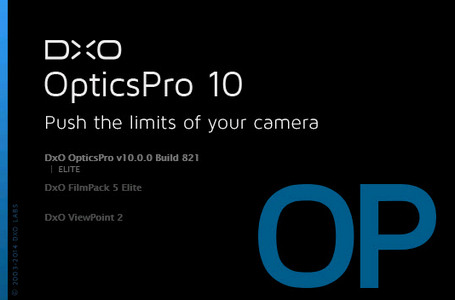 (自動糾正和改善照片)DxO Optics Pro 10.0.0 Build 821 Elite (x64)