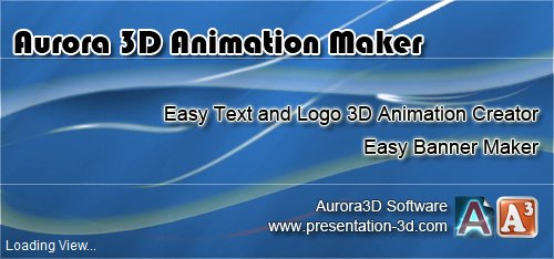 3D 動畫設計-Aurora 3D Animation Maker 12.07.31 版