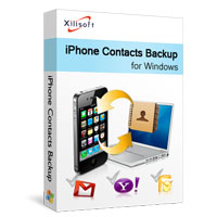 聯繫訊息備份到電腦 Xilisoft iPhone Contacts Backup v1.2.4