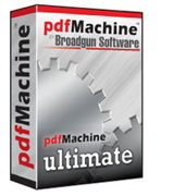 PDF檔案格式直接轉換作家 Broadgun pdfMachine Ultimate v14.49