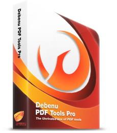 (預覽和編輯PDF檔案工具)Debenu PDF Tools Pro 3.1.0.14