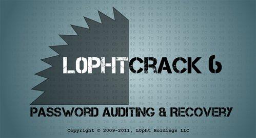 (密碼審計和恢復軟體)L0phtCrack Password Auditor Enterprise 6.0.20