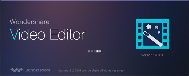 (視訊編輯器)Wondershare Video Editor 4.0.1.0