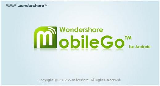 電腦傳輸到你的Android手機或平版 Wondershare MobileGo for Android 5.3.0.289 版