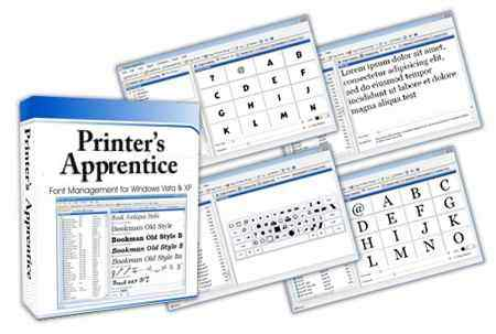 (字型管理器)Printers Apprentice 8.1.35.1