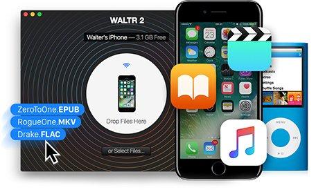 【音樂或視訊檔案轉換和傳輸到iPad或iPhone】WALTR v2.6.15 MacOSX